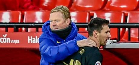 Koeman laat Messi zelf bepalen of hij speelt in finale Supercup: 'Speler altijd laatste woord'