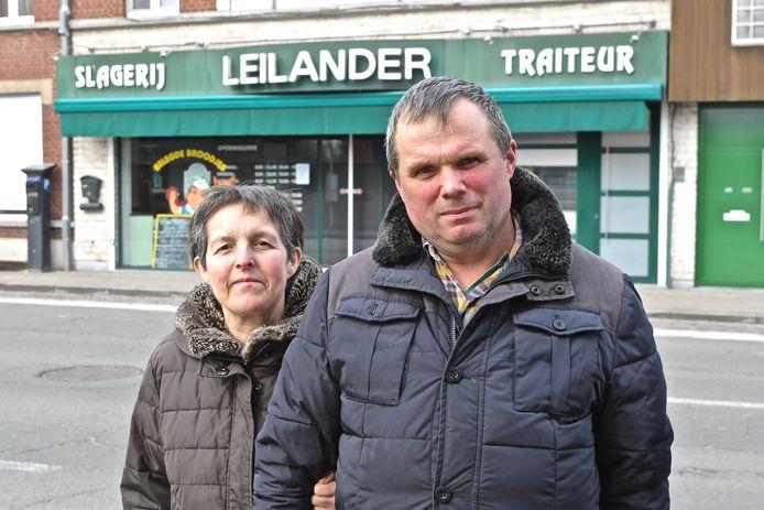 Marnick en Martine moesten anderhalve maand hun slagerij sluiten door corona. Ze heropenen de zaak op 16 april.
