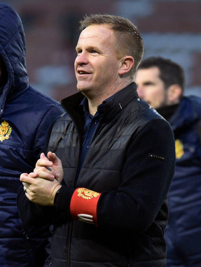 Wouter Vrancken geniet na de afsluiter van 2019.