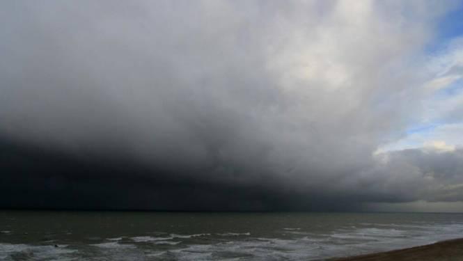 Windstoten tot 120 km/u aan kust mogelijk