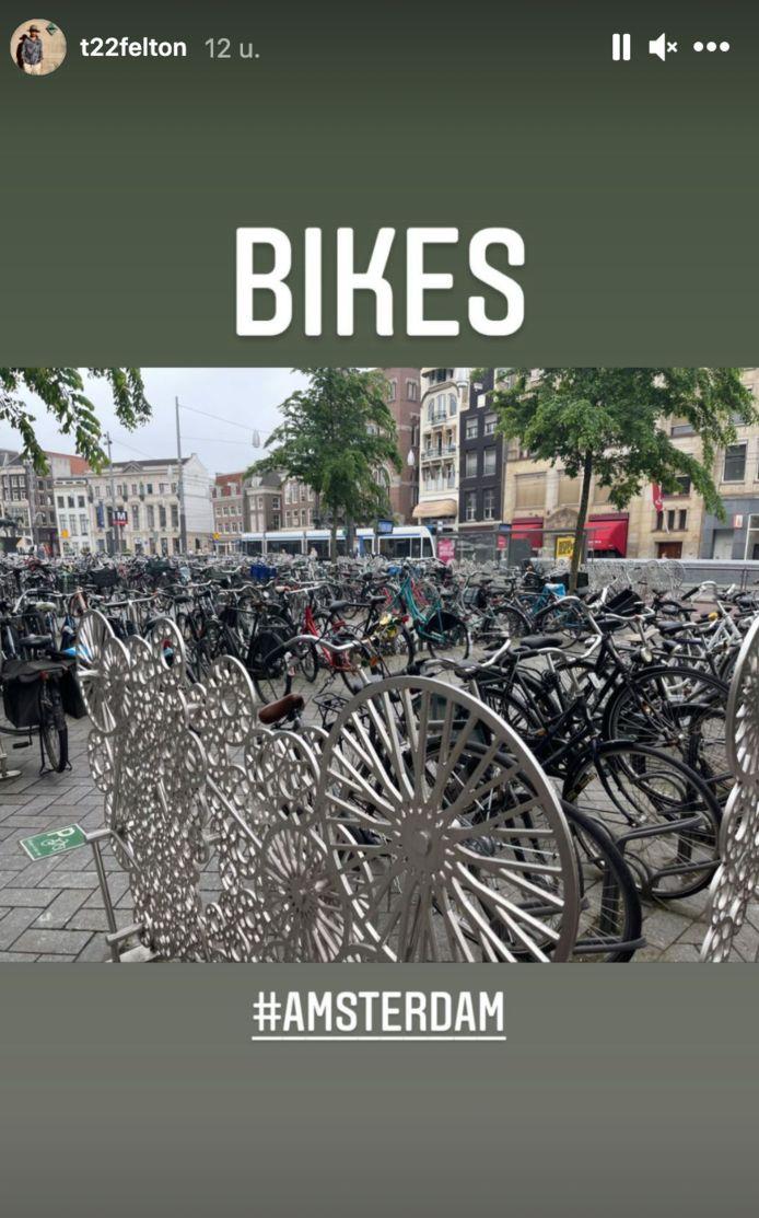 Tom Felton in Amsterdam.