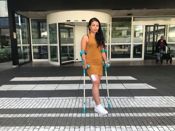 """Kridsana Rodnit voelt zich extra kwetsbaar: ,,Ik kan nauwelijks lopen, laat staan wegrennen."""""""