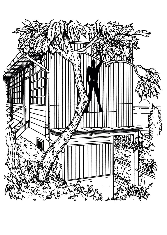 De cabane van Le Corbusier bij villa E1027 Beeld Michel Keppel