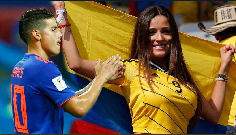 James Rodriguez nam Colombia in de vorige partij tegen Polen op sleeptouw.