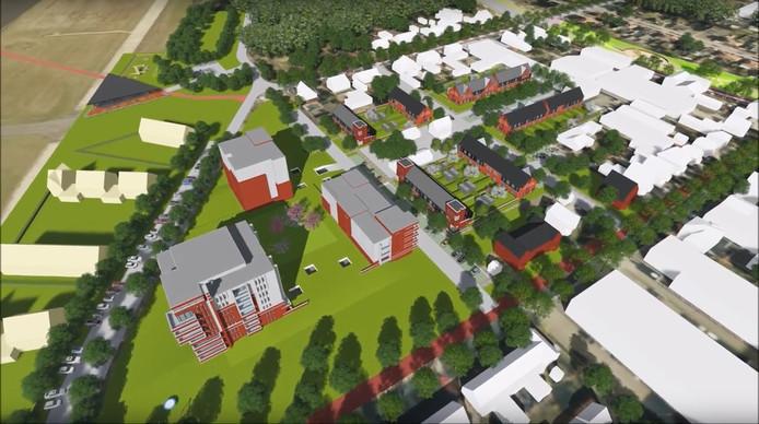 Soesterberg-Noord krijgt circa 300 woningen erbij aan de rand van de vliegbasis.