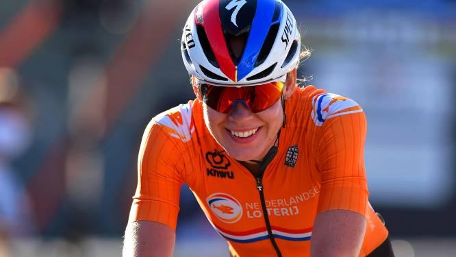 Anna van der Breggen kijkt op WK uit naar afscheid: 'Zelf winnen zit er voor mij nu niet in'