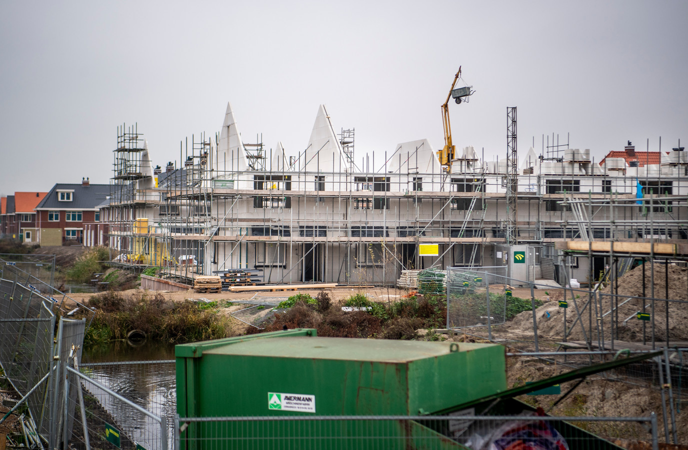 Inwoners van Zuidplas krijgen bij het Vijfde Dorp geen voorrang bij een nieuw huis. Er wordt al volop gebouwd in de wijk Esse Zoom.