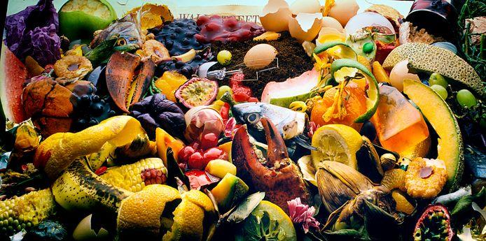Aandacht voor restjes voedsel tijdens de Verspillingsweek in Lelystad.