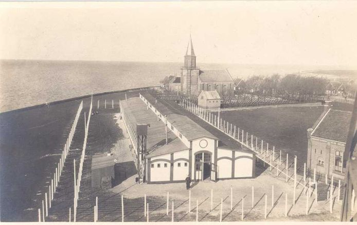 Interneringskamp op Urk in de Eerste Wereldoorlog.