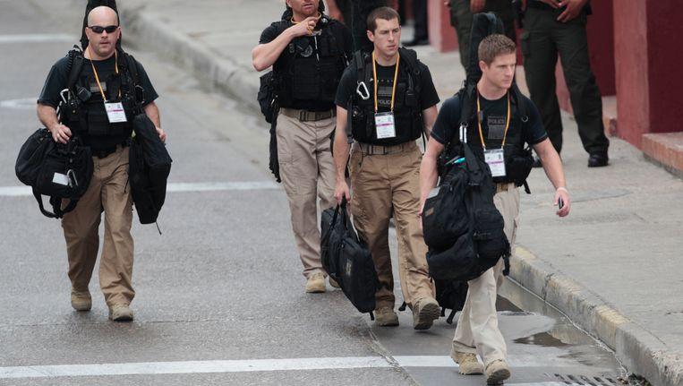 Geheim agenten voor Obama in Colombia. Beeld AP