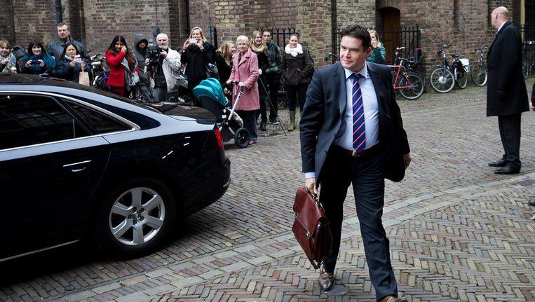 Staatssecretaris Frans Weekers van Financiën. Beeld ANP