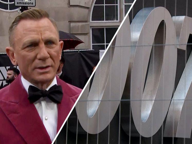 'Enorme opluchting': nieuwste Bondfilm eindelijk in première