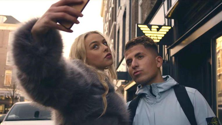 Armoo in de clip van Louis Vuitton. Beeld