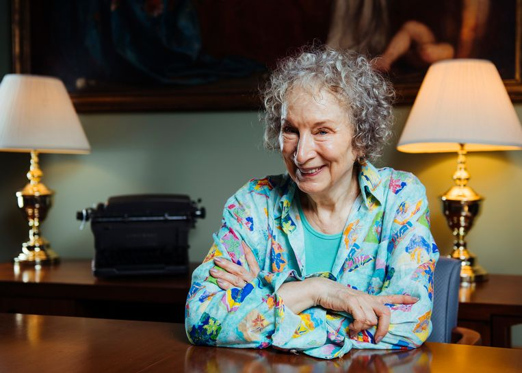 Margaret Atwood. Beeld Arthur Mola/Invision/AP