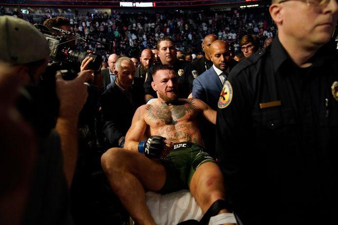 De trieste aftocht van Conor McGregor.