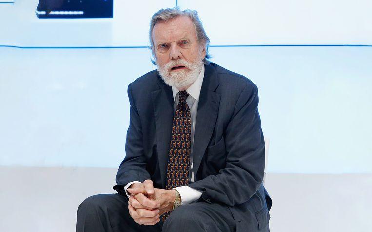John Naisbitt in 2015 in New York. Beeld WireImage