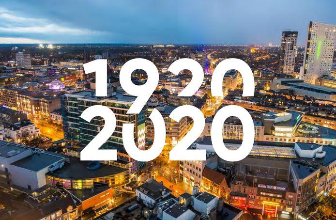 Logo's Eindhoven 100 jaar 1920-2020