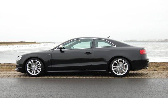 Audi S5 foto ter illustratie