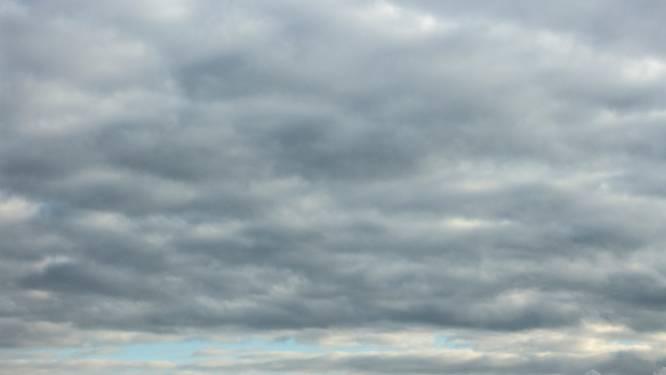 Bewolkt maar meestal droog, maxima tot 14 graden