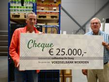 Coffeeshop doneert 25.000 euro aan Woerdense voedselbank