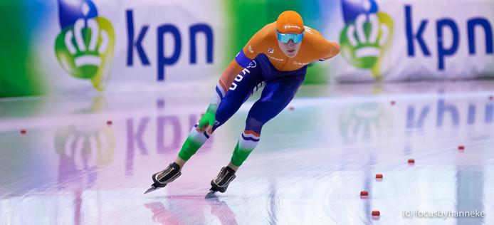 Noordenaar Beau Snellink eerder dit seizoen tijdens de Junior World Cup.