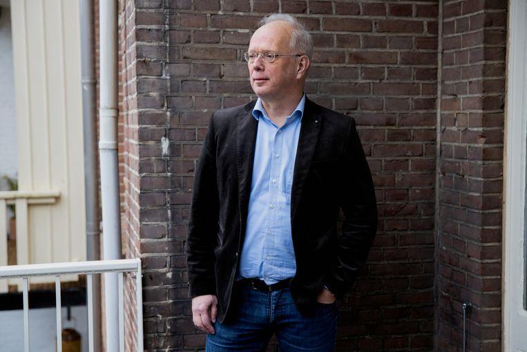 Reinout van der Heijden, columnist voor de Volkskrant en hoofdredacteur De GeldGids  Beeld Ines Vansteenkiste-Muylle