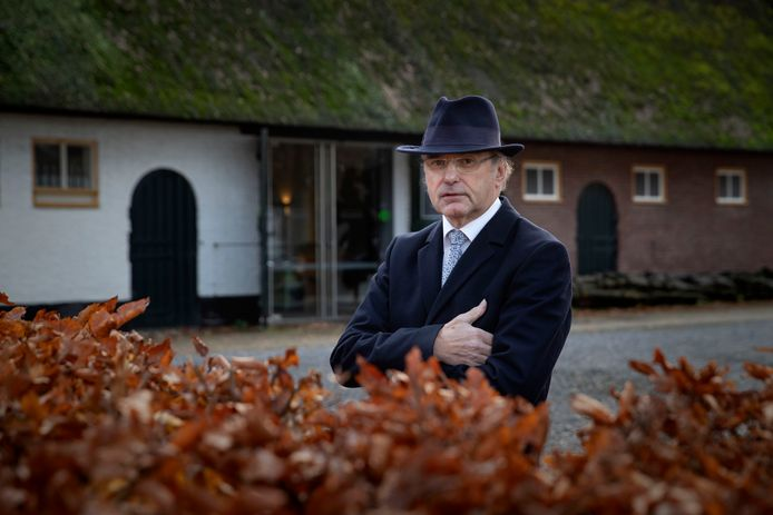 Tonny van den Boomen, auteur van drie boeken over Tongelre en zijn historie.