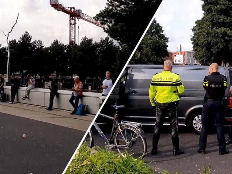 Station Apeldoorn ontruimd vanwege verdachte situatie, een arrestatie