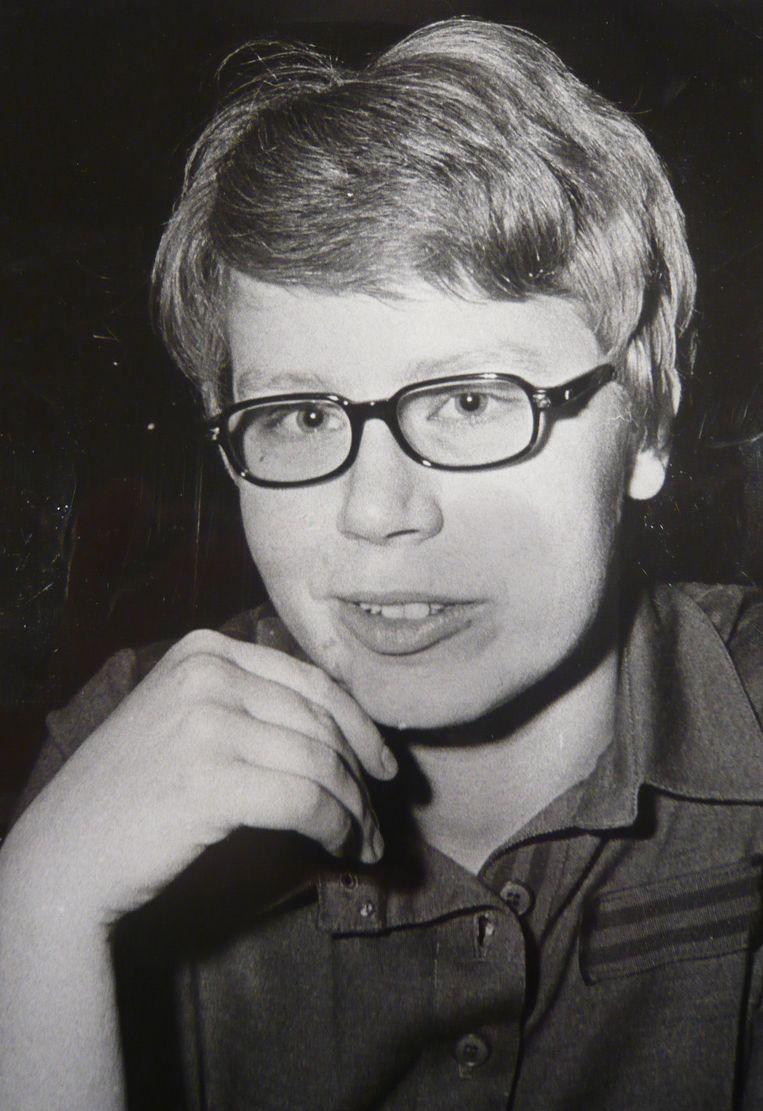 Joke Swiebel in januari 1969 Beeld -
