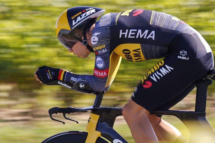 Deuxième victoire d'étape pour Wout Van Aert sur le Tour 2021.