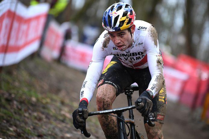 """Wout van Aert: """"Het parcours was me wel bekend en ik moet toegeven dat het me echt wel lag."""""""