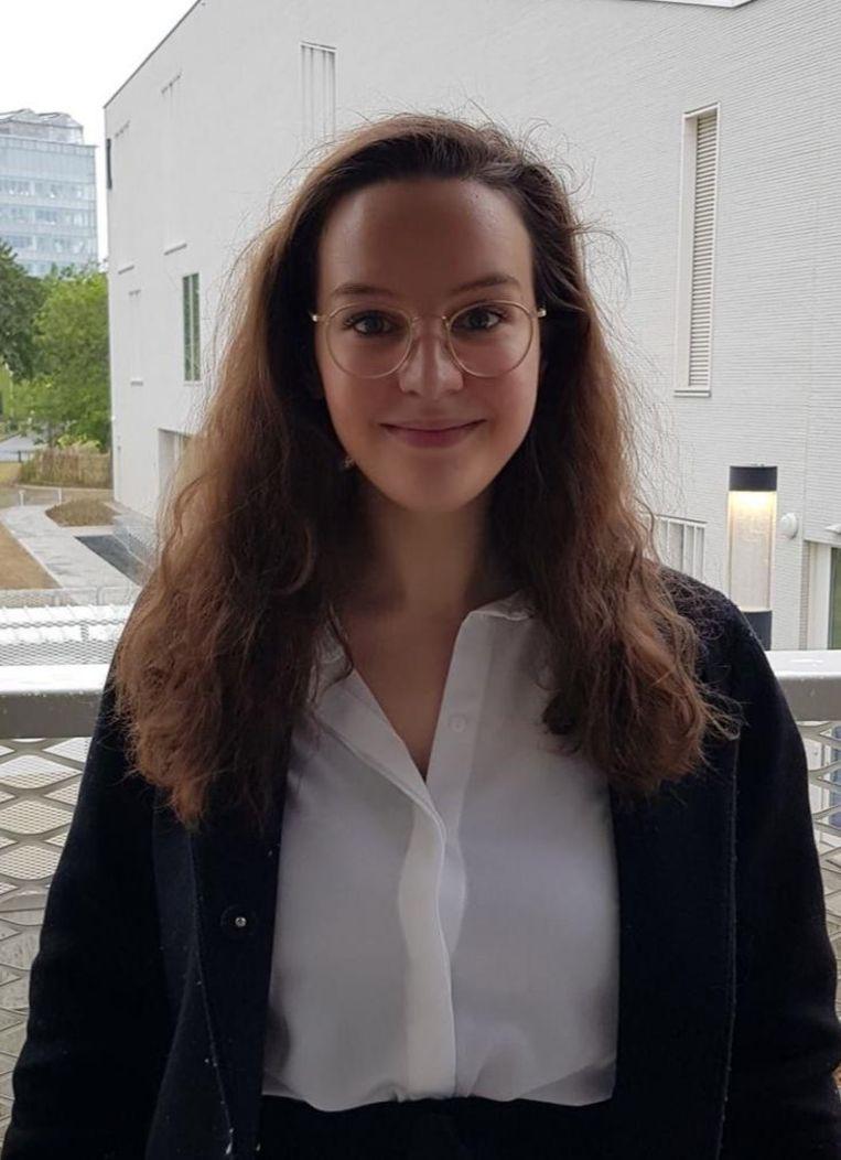 Nadia Akrimi. Beeld rv
