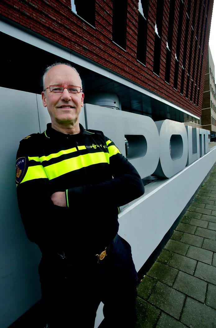 Henk de Jong, districtchef politie Zuid-Holland-Zuid