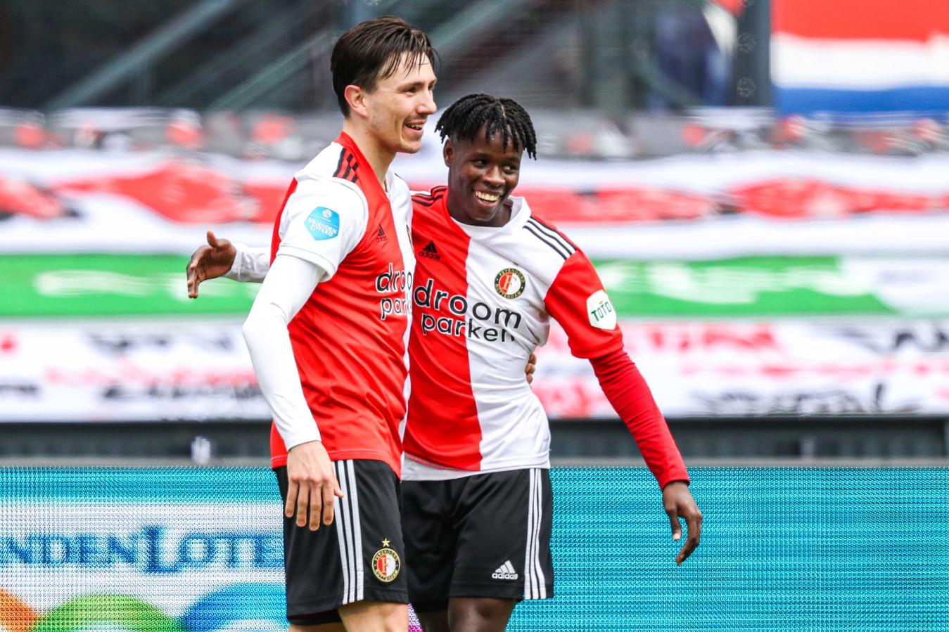 Aliou Balde gaf de assist bij de 2-0 van Steven Berghuis.