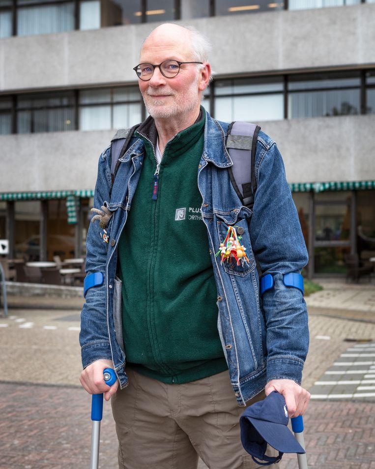 Adriaan Martens, 67 jaar. Beeld Pauline Niks
