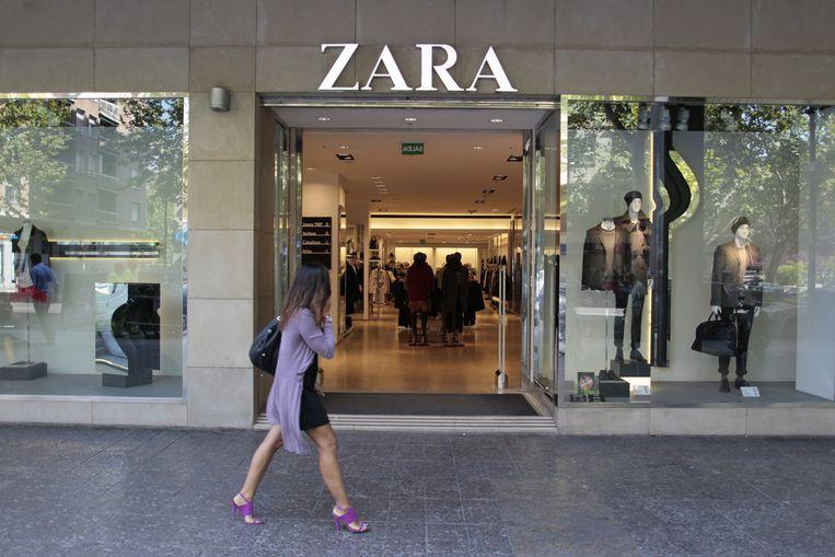 Samen met H&M heeft Zara besloten om viscose te bannen uit hun productieproces. Beeld EPA