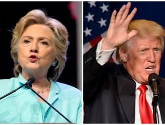 Clinton loopt voor het eerst 10 procent uit op Trump
