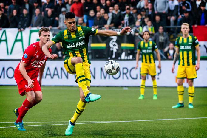 Bjørn Johnsen schiet tegen FC Twente het beslissende doelpunt binnen.