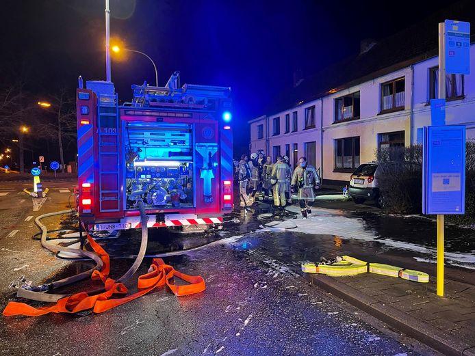 Brandweermannen hadden het vuur snel onder controle.