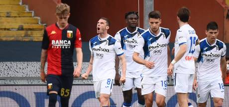 Atalanta opnieuw Champions League in, Zoet handhaaft zich met Spezia