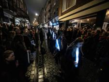 Ingetogen 'herinneringsmoment vol hoop' in Nijmeegse binnenstad