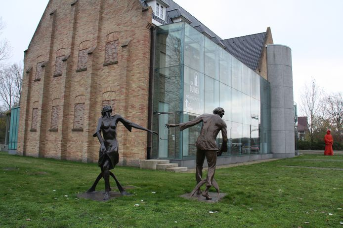 Het abdijmuseum Ten Duinen blijft hele week dicht.