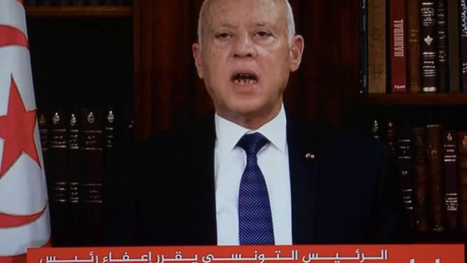 President Tunesië schorst parlement en ontslaat regeringsleider
