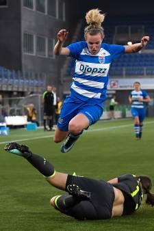 Vrouwen PEC Zwolle zijn figurant in kampioenspoule