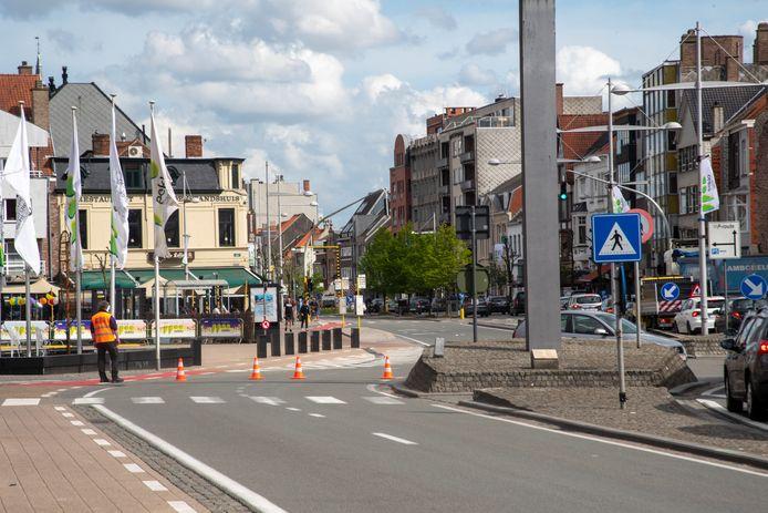De N9 richting Maldegem is afgesloten voor het verkeer.