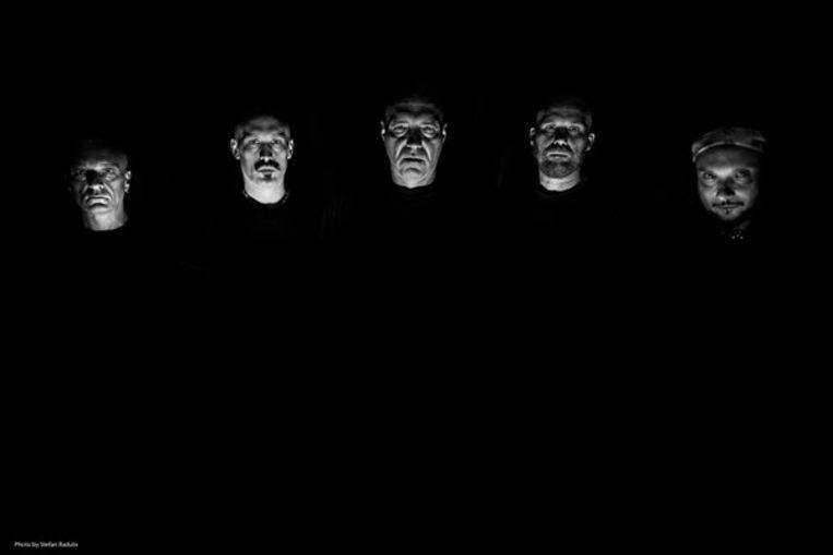 De Noorse blackmetalband Mayhem. Beeld