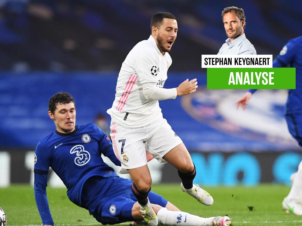 Onze chef voetbal Stephan Keygnaert over Real Madrid en Hazard.