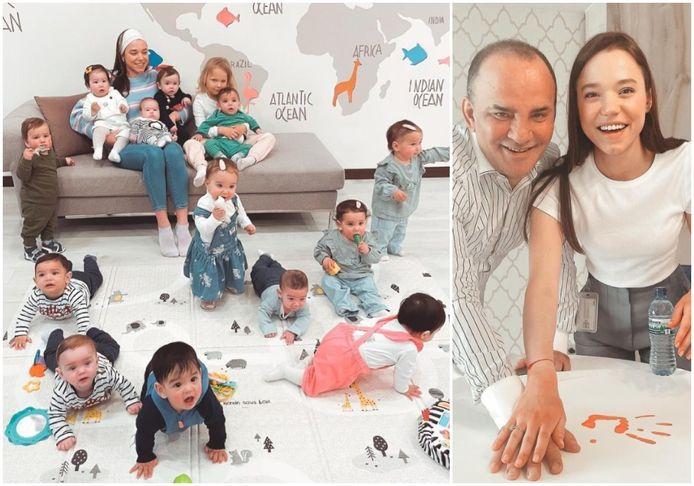Kristina et Galip ont eu vingt enfants en moins d'un an.