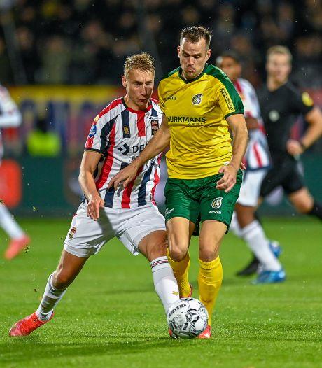 LIVE | Willem II komt razendsnel langszij na goal Fortuna Sittard