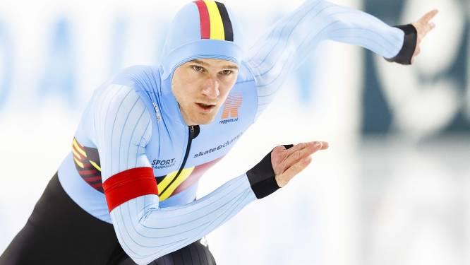 """Mathias Vosté sluit EK sprint als achtste af: """"Tweede plek op duizend meter maakt heel weekend goed"""""""